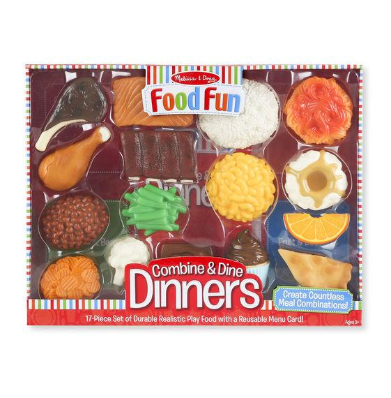 Food Fun Combine and Dine Dinners - Red