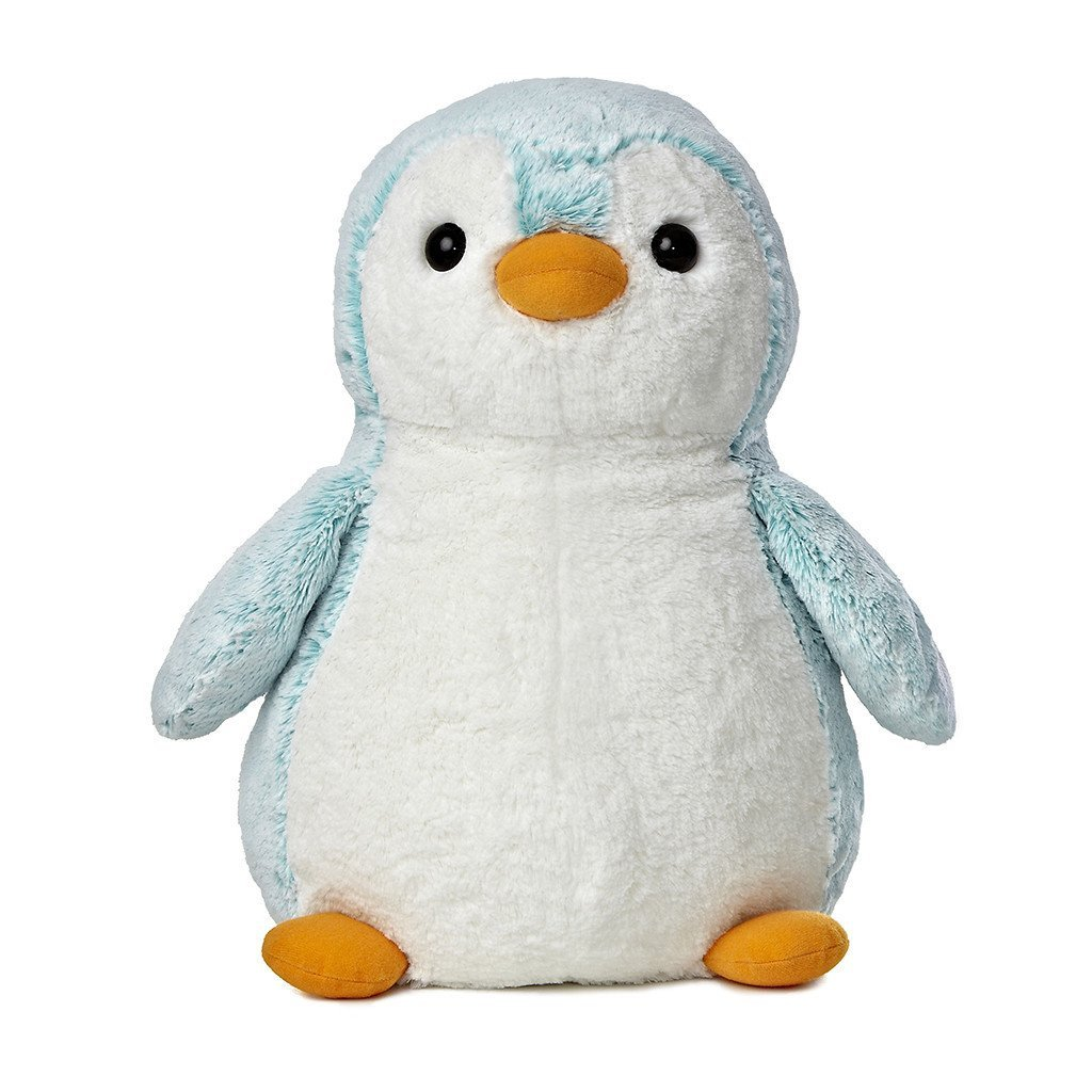 Pom Pom Penguin Blue - Brights by Aurora