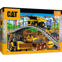 Puzzle - 60 pieces - Under the Bridge (CAT Construction)
