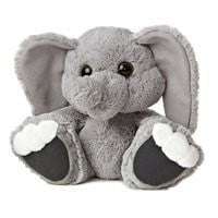 Plush - Stomper Elephant - Taddle Toes by Aurora