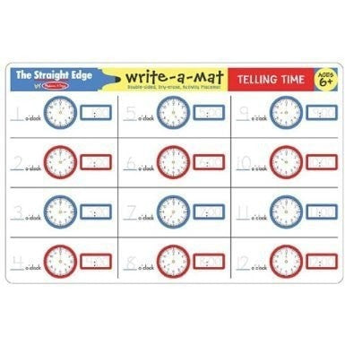 Learning Mat - Telling Time