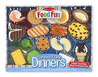 Food Fun Combine & Dine Dinners - Blue