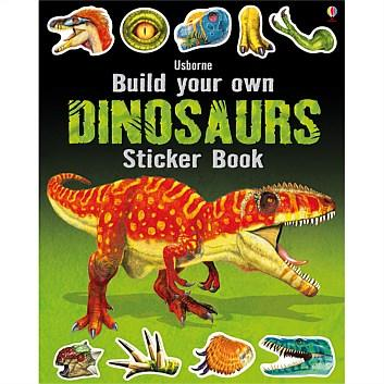 Build Your Own: Dinosaurs Sticker Book