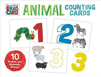 Animals Counting Cards