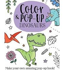 Color & Pop-Up Dinosaurs Book