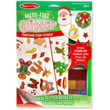 Mess-Free Glitter Christmas Foam Stickers