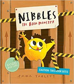 Nibbles The Book Monster Book