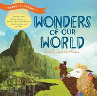 A Shine-A-Light Book: Wonders of the world