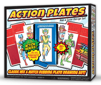 chambersburg toy store action plates drawing kids super hero