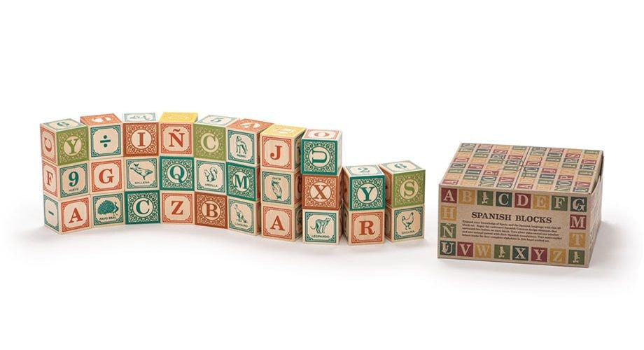 Uncle Goose - Spanish ABC Blocks