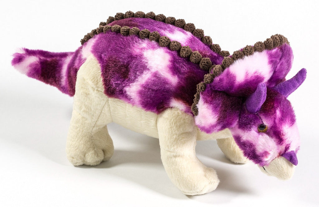 "Purple Triceratops 14"" by Aurora"