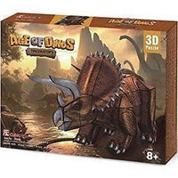 Age of Dinos - Triceratops 3D Puzzle
