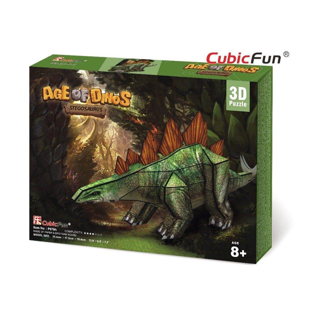Age of Dinos - Stegosaurus 3D Puzzle