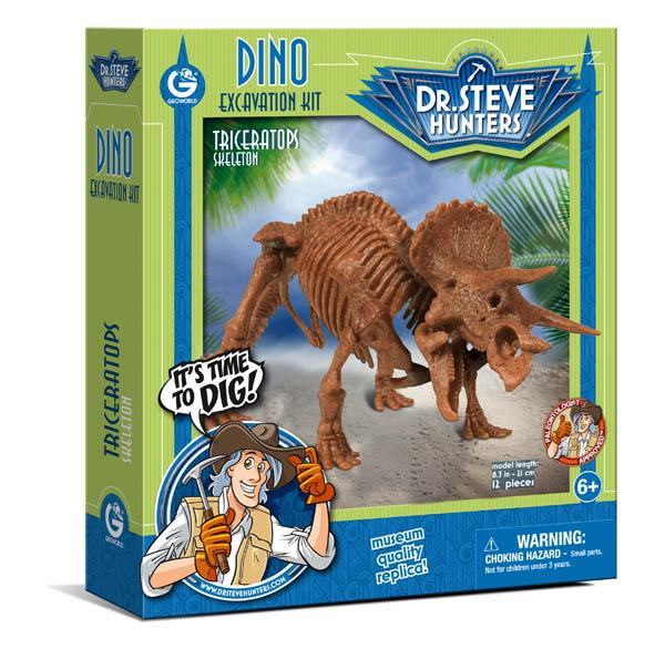 Excavation Kit - Triceratops