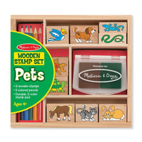 Wooden Stamp Set - Pets
