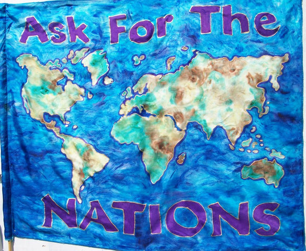 Ask for the Nations Prophetic Flag