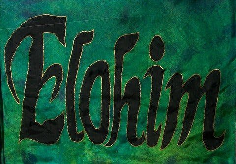 Elohim Prophetic Worship Flag