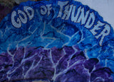 GOD OF THUNDER Prophetic Worship Flag
