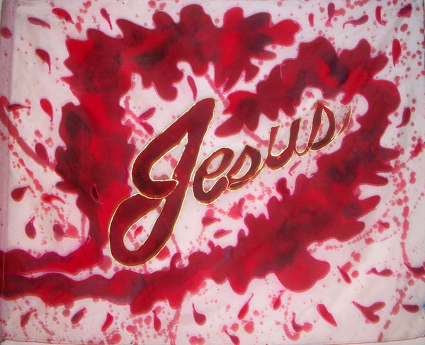 Blood of Jesus Prophetic Flag