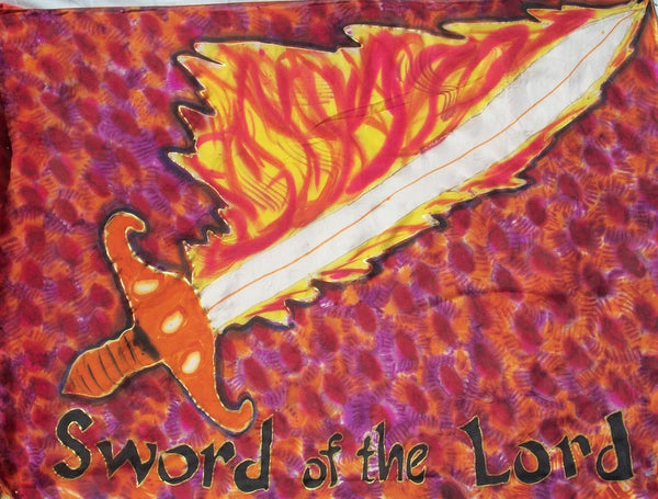 Sword of the Lord (#3) Prophetic Flag