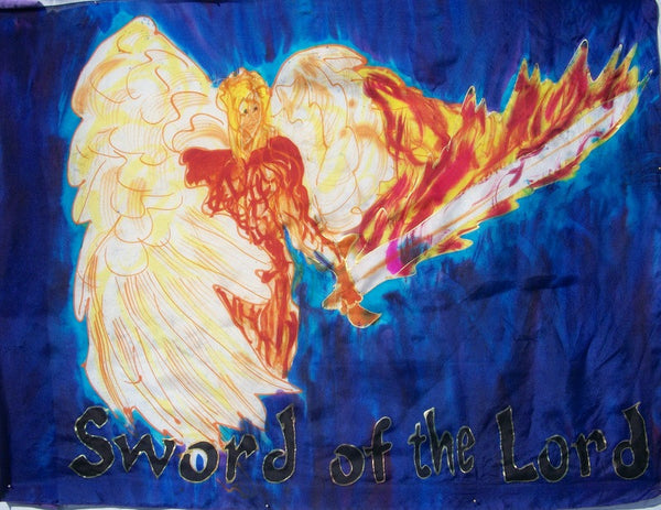 Sword of the Lord (#2) Prophetic Flag