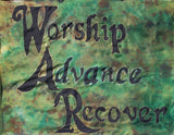 W.A.R. Prophetic Worship Flag