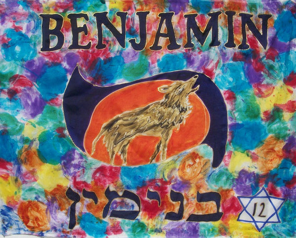 Benjamin Prophetic Worship Flag