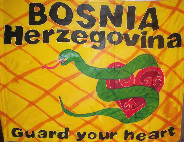 BOSNIA-HERZEGOVINA Prophetic Flag