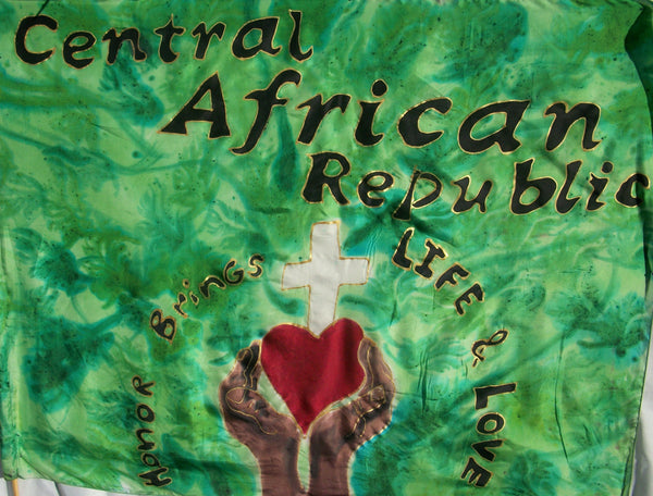 CENTRAL AFRICAN REPUBLIC Prophetic Flag