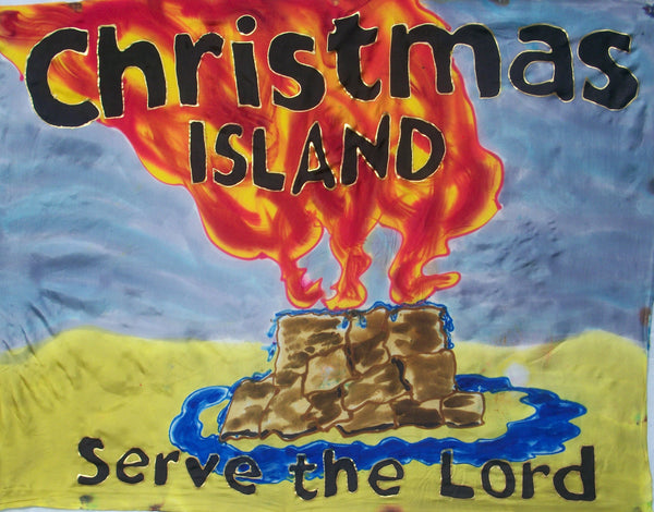 CHRISTMAS ISLANDS Prophetic Flag
