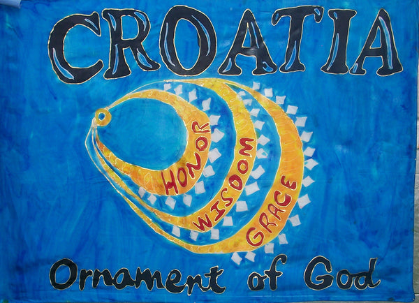 CROATIA Prophetic Flag