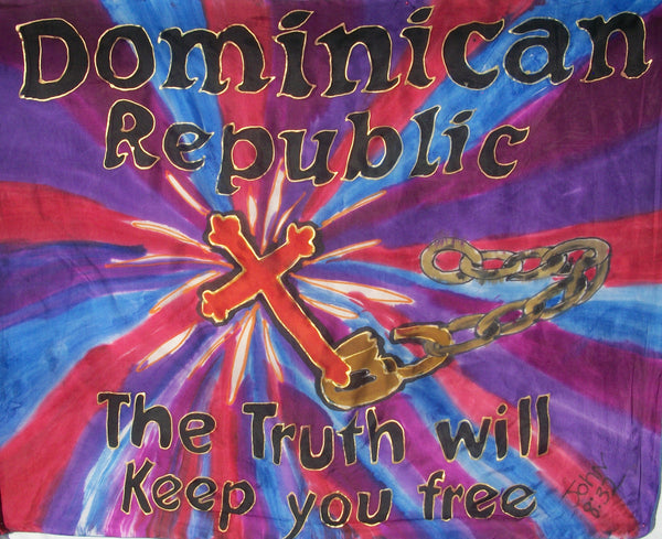 DOMINICAN REPUBLIC Prophetic Flag