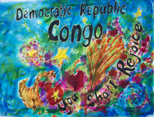 DEMOCRATIC REPUBLIC OF CONGO  Prophetic Flag