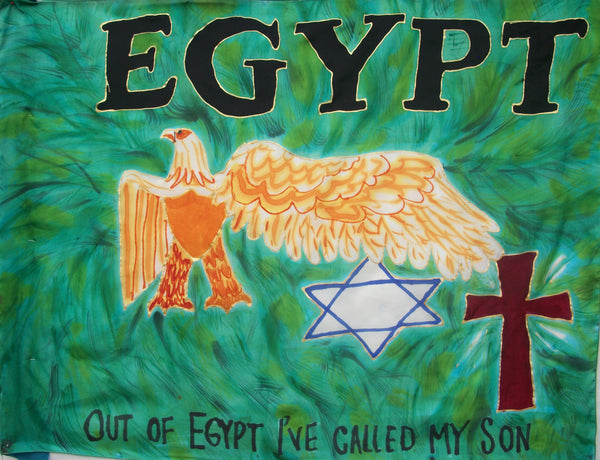 EGYPT Prophetic Flag