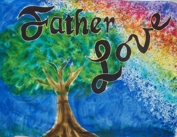 Father Love Prophetic Worship Flag