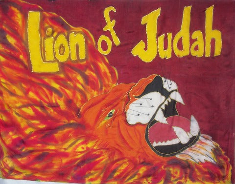 Firey Lion Of Judah