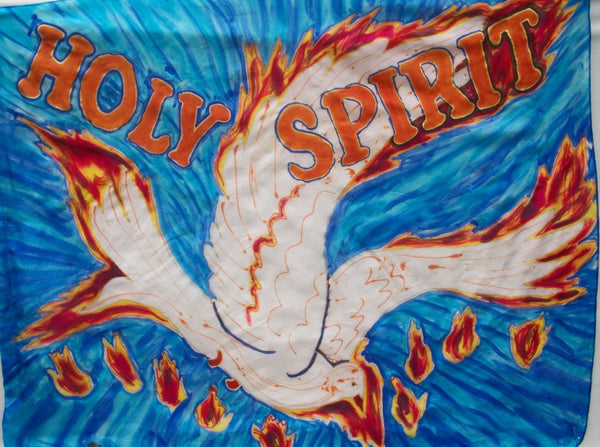 Holy Spirit Baptism of Fire Dove