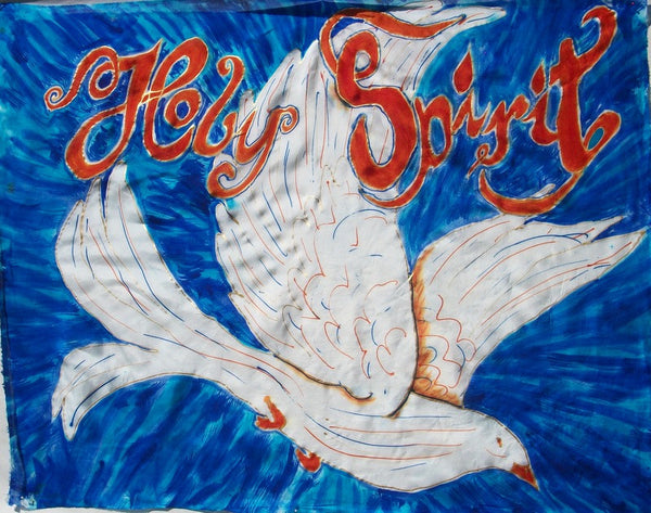 Holy Spirit Dove with Script letters