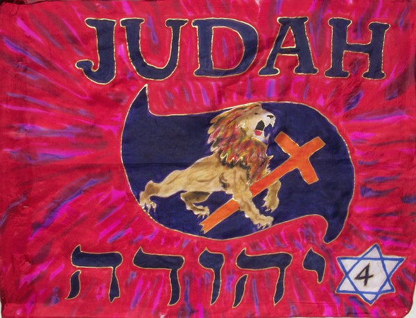 Judah Prophetic Worship Flag