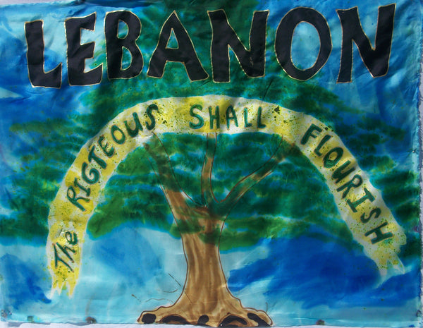 Lebanon Prophetic Flag