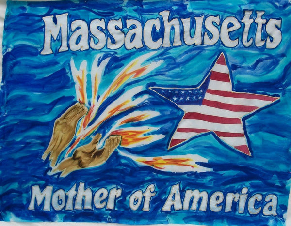 Massachusetts Prophetic Destiny Flag