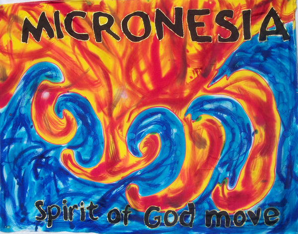 MICRONESIA Prophetic Flag
