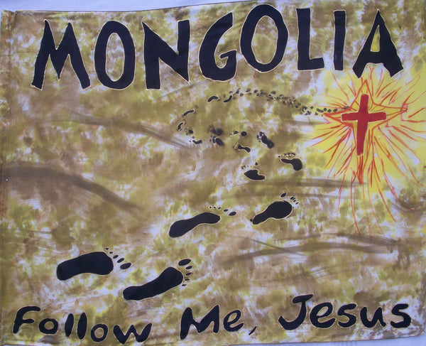 MONGOLIA Prophetic Flag