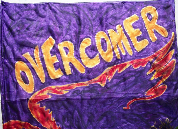 Overcomer Prophetic Worship Flag