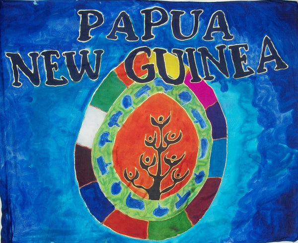 Papua New Guinea Prophetic Flag