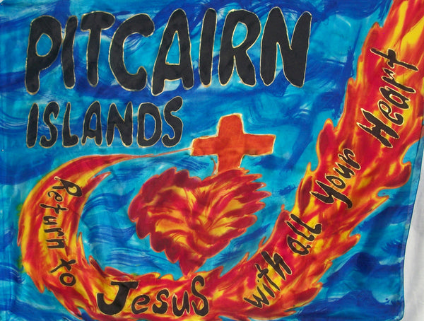 PITCAIRN ISLANDS Prophetic Flag