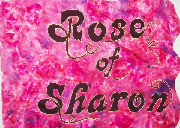 Rose of Sharon Prophetic Flag