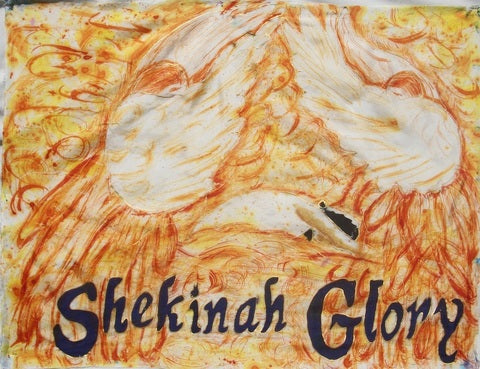 Shekinah Glory Prophetic Worship Flag