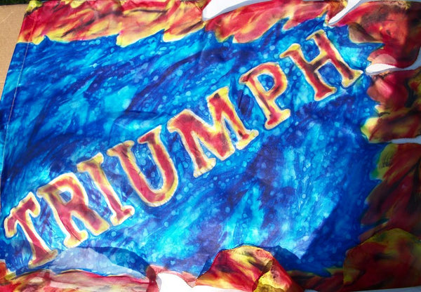 Triumph Word on Glory Fire