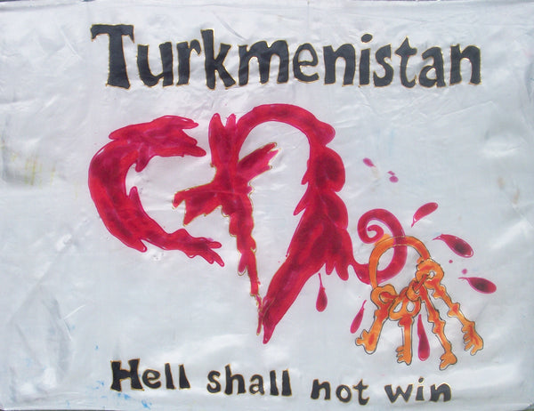 TURKMENISTAN Prophetic Flag